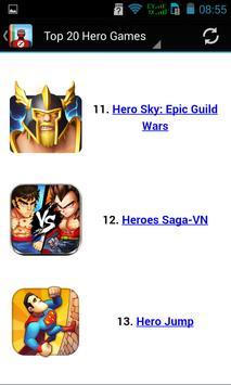 Top Hero Games apk screenshot