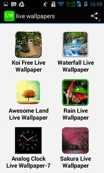 Top Live Wallpapers Apps poster