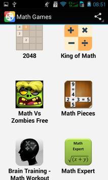 Top Math Games screenshot 1