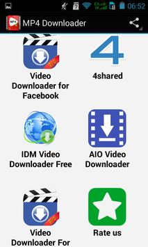 Top Mp4 Downloader apk screenshot