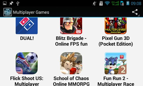 Top Multiplayer Games apk screenshot