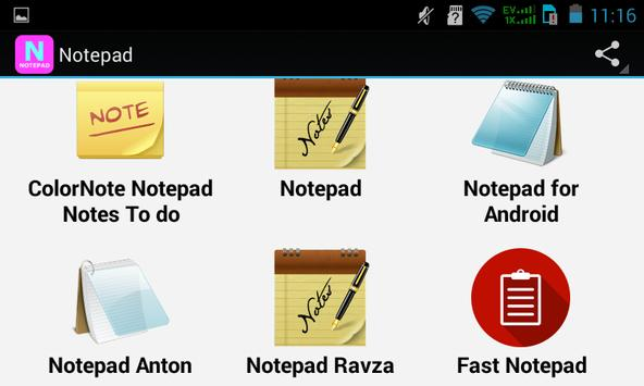 Top Notepad Apps screenshot 2