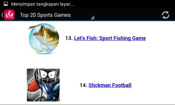 Top Sport Games apk screenshot