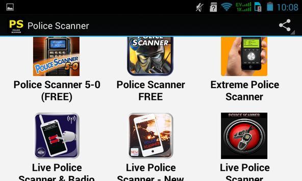 Top Police Scanner Apps apk screenshot