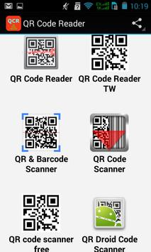 Top QR Code Reader Apps poster