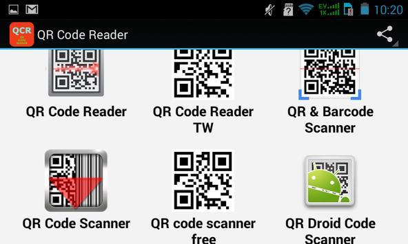 Top QR Code Reader Apps screenshot 2