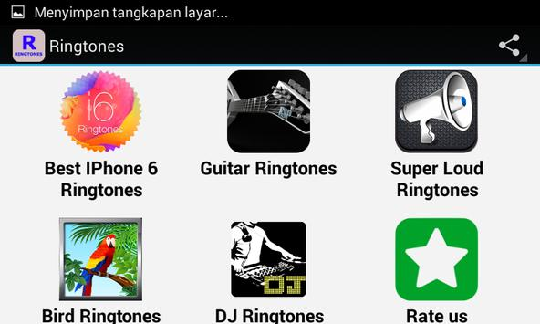 Top Ringtones apk screenshot