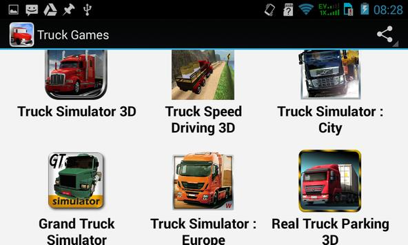 Top Truck Games apk screenshot