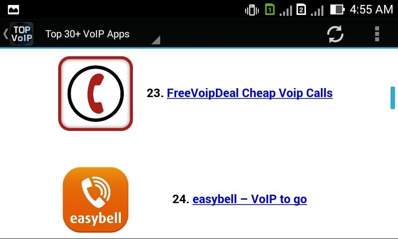 Top VoIP Apps for Android - APK Download