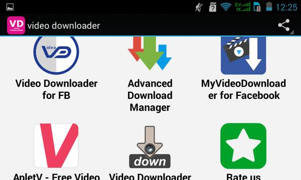 Top Video Downloader apk screenshot