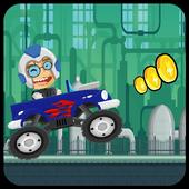 The Crazy Genius Racer icon