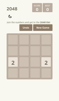 Classic 2048 Game apk screenshot