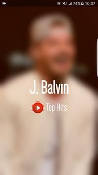 J Balvin Top Hits poster