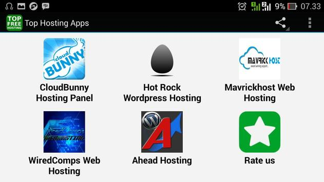 Top Hosting Apps screenshot 3