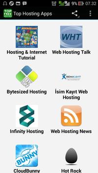 Top Hosting Apps poster