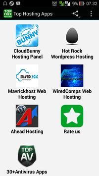 Top Hosting Apps screenshot 1