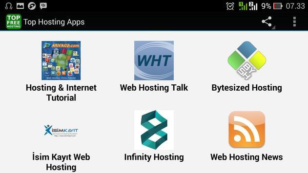 Top Hosting Apps screenshot 2