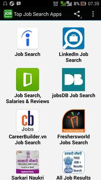 Top Job Search Apps poster