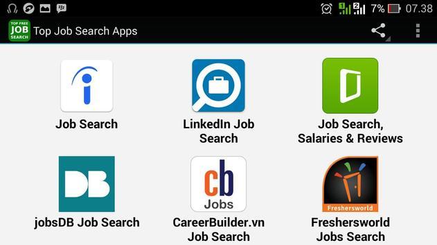 Top Job Search Apps apk screenshot