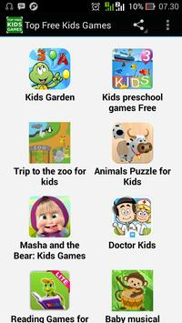 Top Free Kids Games poster
