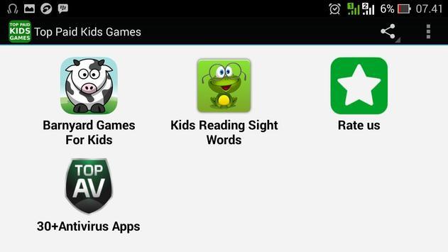 Top Paid Kids Games screenshot 4