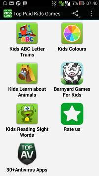 Top Paid Kids Games screenshot 1