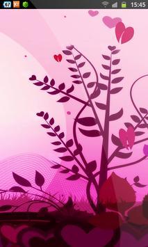 Love Hurts Valentine HD LWP apk screenshot