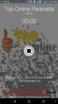 Rádio Top Online Paranaita apk screenshot
