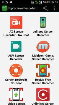 Top Screen Recorder Apps poster