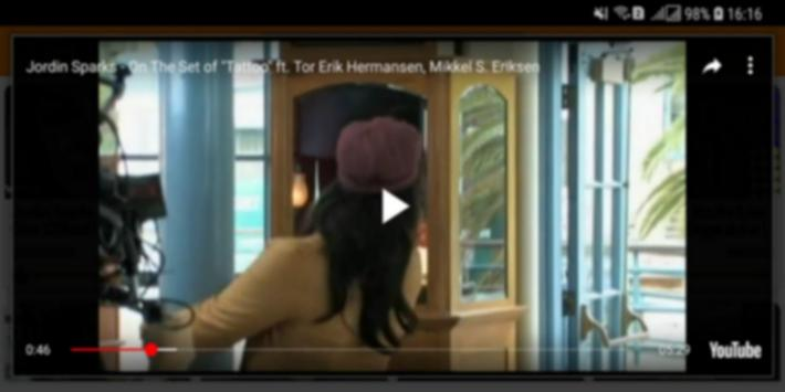 Jordin Sparks Top MV screenshot 4