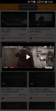 Zach Williams Top MV screenshot 2