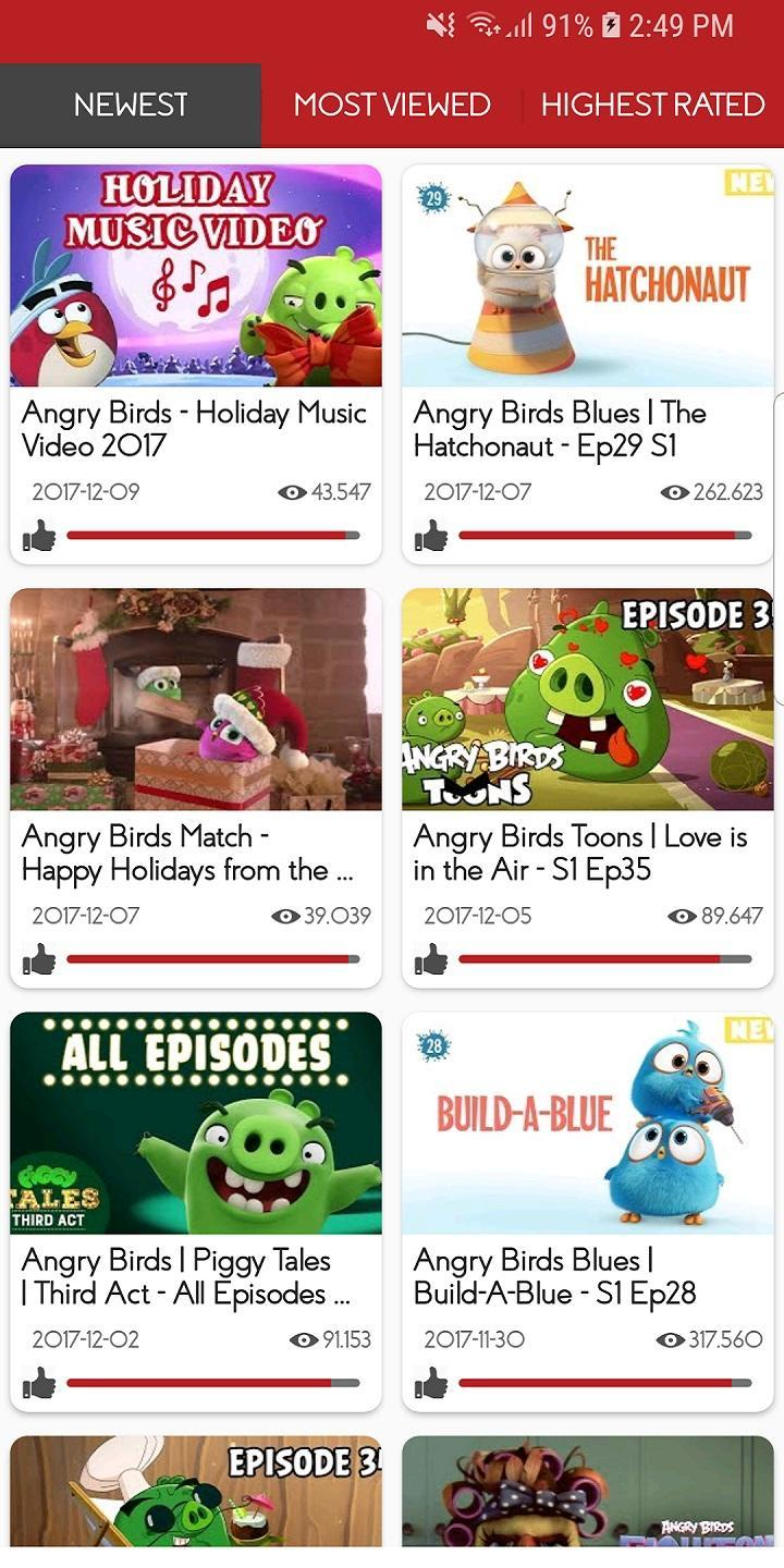 Video of Angry Birds for Android - APK Download