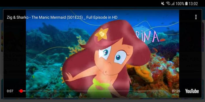 Video of zig and sharko para android apk baixar for Zig e sharko italiano