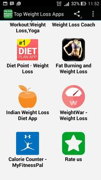 Top Weight Loss Apps apk screenshot
