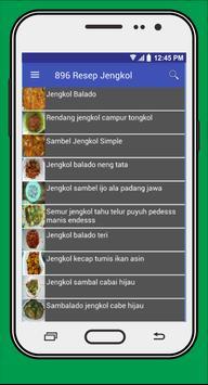 Resep Masakan Berbahan Jengkol poster