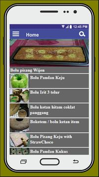 Resep Kue Bolu screenshot 1