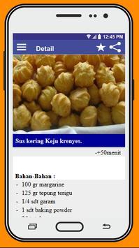 Resep Kue Sus poster