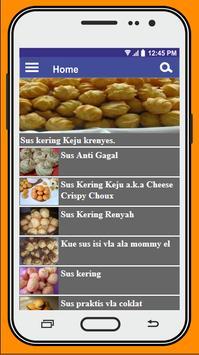 Resep Kue Sus screenshot 1