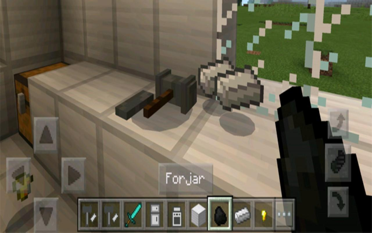 Penjabaran dari the modern furniture addon for mcpe mod