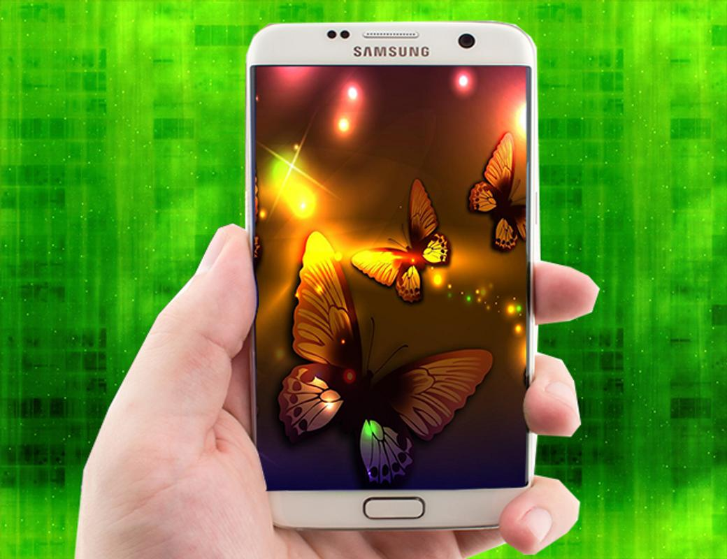 Neon Butterfly Wallpapers For Android
