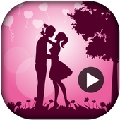 Valentine Day Video Maker 2018 - Slideshow Maker icon