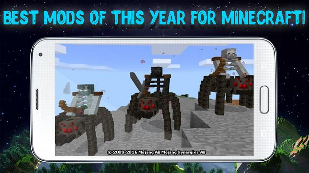 Mods for Minecraft that work poster