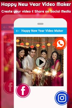 New Year Video Maker | New Year Slideshow Maker screenshot 4