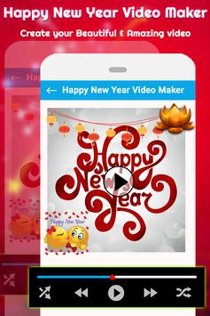 New Year Video Maker | New Year Slideshow Maker screenshot 3