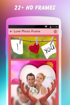 Love Photo Frames screenshot 1