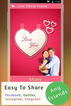 Love Photo Frames screenshot 9