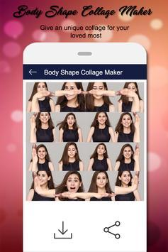 Body Shape Collage:Photo Editor apk screenshot