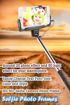 Selfie Camera Photo Frame screenshot 4