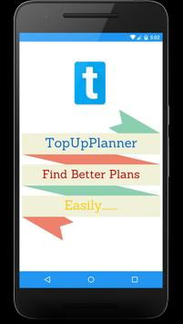 Top up planner poster