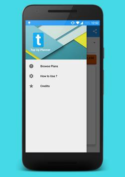 Top up planner apk screenshot